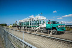 Emerald Downs race gate Stock Images