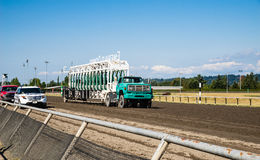 Emerald Downs race gate Royalty Free Stock Image