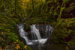 Emerald Falls in the Fall Royalty Free Stock Photos