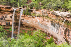 Emerald Falls Stock Images