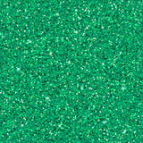 Emerald glitter background. Green sparkles texture with shine, emerald glitter background. Vector illustration, seamless pattern, glamour style for your design Stock Photo