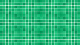 Emerald green ceramic floor and wall tiles. Abstract vector background.  Stock Images