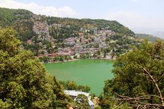 Emerald Green Lake Royalty Free Stock Photo