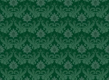 Emerald green renaissance background Royalty Free Stock Photography
