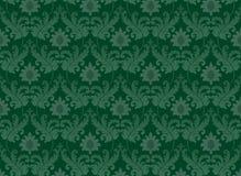 Emerald green renaissance background. Decorative emerald green renaissance background Royalty Free Stock Photography