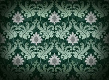 Emerald green renaissance background Royalty Free Stock Image