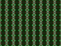 Emerald Green Shapes Background Pattern Images libres de droits