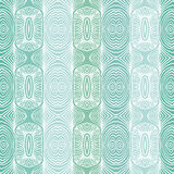 Emerald green vector texture with delicate lines Stock Images
