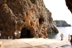 Emerald Grotto Italy Royalty Free Stock Images