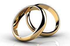 The beauty wedding ring Royalty Free Stock Photo