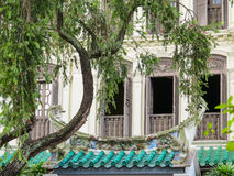 Emerald Hill is conservation area, Singapore royalty free stock image