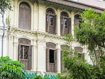 Emerald Hill is conservation area, Singapore stock images