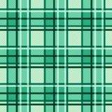 Emerald hues seamless checkered pattern Stock Image