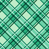 Emerald hues seamless diagonal pattern Stock Image