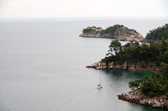 Emerald Island Waters Fotografía de archivo libre de regalías