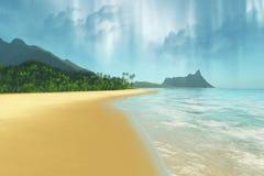 Emerald Isle 库存照片