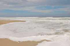 Emerald Isle North Carolina surf stock photo