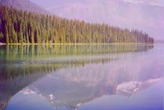 emerald jeziora Obraz Royalty Free