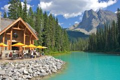 Emerald Lake Royalty Free Stock Image