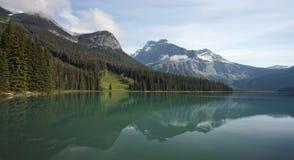 Emerald Lake. Located in Yoho National Park, British Columbia, Canada Stock Photos