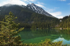 Emerald lake Royalty Free Stock Images