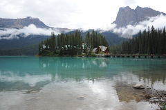 Emerald Lake Royalty Free Stock Photos