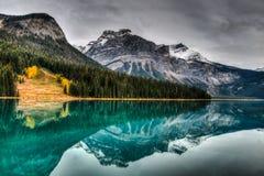 Emerald Lake Royalty-vrije Stock Foto's