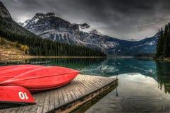 Emerald Lake Stock Fotografie
