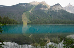 Emerald Lake Royalty-vrije Stock Afbeeldingen
