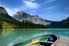 Emerald lake stock photos