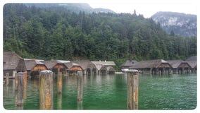 Emerald Lake Fotos de archivo libres de regalías