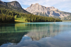 Emerald Lake, Alberta, Canada Royalty Free Stock Images