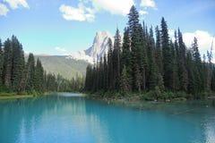 Emerald Lake - Alberta - il Canada fotografia stock libera da diritti