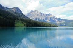 Emerald Lake - Alberta - Kanada Royaltyfria Foton