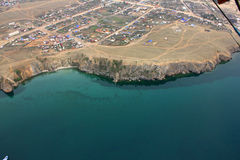 Emerald Lake Baikal Stock Images