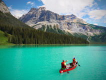 Emerald Lake, British Columbia, Canada Royalty Free Stock Photography