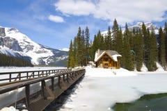 Emerald Lake, Canadian Rockies Royalty Free Stock Photography