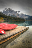 Emerald Lake Royalty Free Stock Images