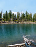 Emerald Lake. Caribou Wilderness, Northern California Royalty Free Stock Image
