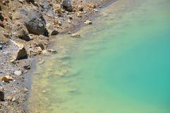Emerald Lake, circuito septentrional de Tongariro, travesía alpina fotos de archivo libres de regalías