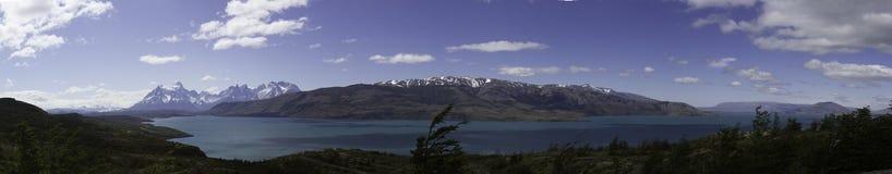 Emerald Lake dans le Patagonia, Chili Image stock