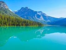 Emerald Lake en Yoho National Park, AVANT JÉSUS CHRIST, Canada images libres de droits