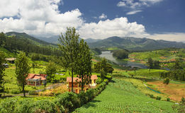 Emerald Lake, Nilgiris Ooty Stockbilder
