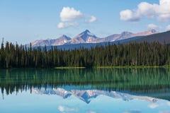 Emerald lake Royalty Free Stock Photography