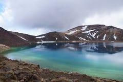 Emerald lake, Tongariro Royalty Free Stock Photography