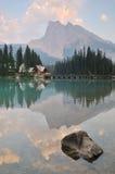 Emerald Lake in Yoho National Park Stock Photos