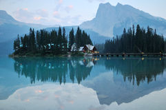 Emerald Lake in Yoho National Park Royalty Free Stock Photos