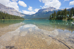 Emerald Lake, Yoho National Park, BC stock image