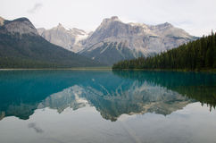 Emerald Lake in Yoho National Park Royalty Free Stock Images