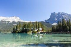 Emerald Lake, Yoho National Park, British Columbia, Canada Royalty Free Stock Photo